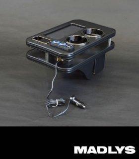 デリカD:5 MADLYS D:5 センターテーブルver3 フロント用 マットブラック