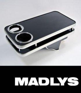デリカD:5 MADLYS センターテーブル リア用 ピアノブラック