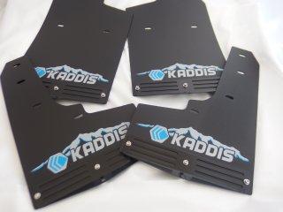デリカD:5 KADDIS専用マッドフラップPREMIUMブルー