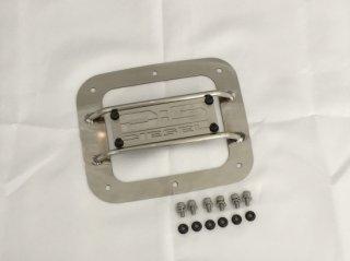 デリカD:5後期型 KADDISフュエルリッドプロテクター ステンレス