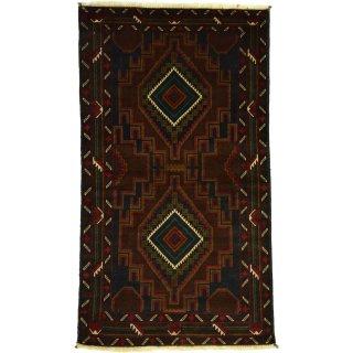 アフガン バルーチ ブルー系 約85×140cm