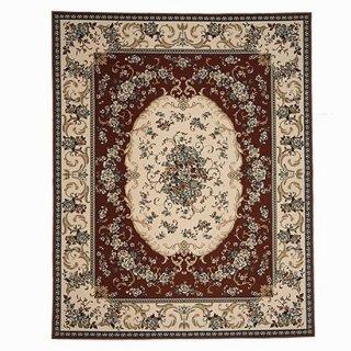 汚れの落ちるカーペット 「センズ/sens」モケット織 花柄 200×250cm