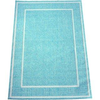 エジプト綿ラグ ナイル 080 ライトブルー