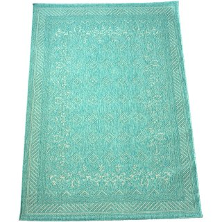 エジプト綿ラグ ナイル 873 ライトブルー