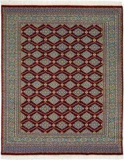 パキスタン手織 打込:12×24 サイズ:202×247 品番:15SS-25001