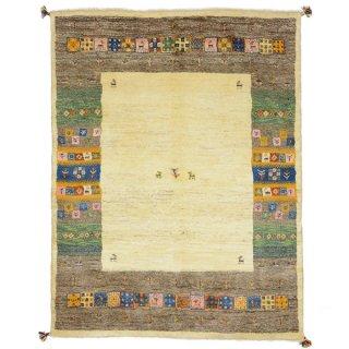 ペルシャンギャッベ ザロニム アクセントラグサイズ ベージュ系 約200×153cm