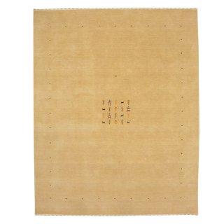 【B品】ハンドメイド インドギャベ「ロリバフ」ベージュ LB-1834BE25 約200×250cm