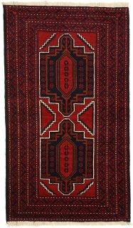 アフガン バルーチ レッド系 約85×140cm