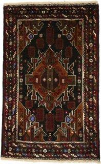 アフガン バルーチ 約85×140cm