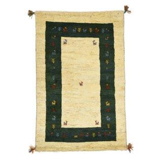 ペルシャンギャッベ ザロニム ベージュ系 約150×98cm