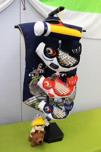 室内鯉飾り 陣羽織
