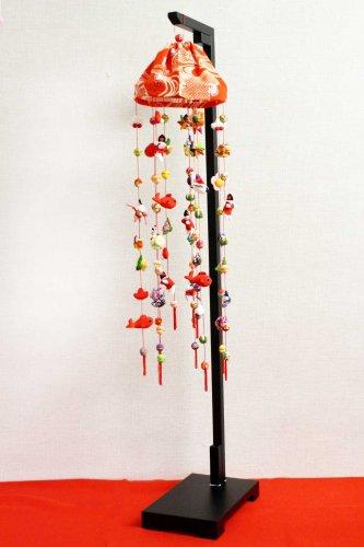 幸せ二重 傘飾り