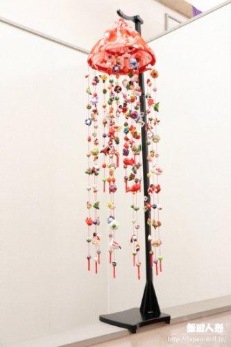 【正絹】豪華つるし雛 祝い飾り 飾り台なし[149739]