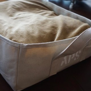 DOG CANVAS BED corduroy