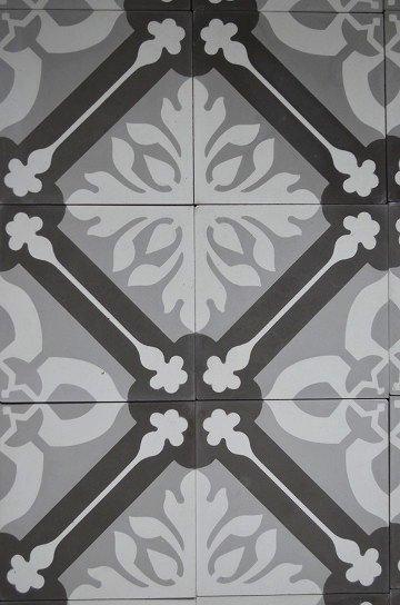 アンティークタイル e 14センチタイル セメントタイル 輸入タイル 古材 フランスタイル シャビーな床材 フロアータイル 通販6