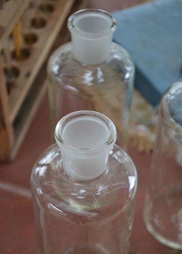 ラボラトリーボトル,ピューター,アンティークガラス,アンティークボトル,,花瓶,ジャグ,水差し,ピュレット,ブロカント,アンティーク雑貨,通販,販売6
