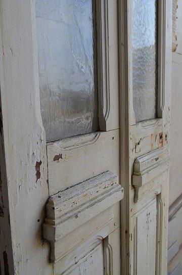 テキスチャーガラスドア,アンティークガラスドア,ガラスドア,室内ドア,アンティーク扉,建築部材,建具,通販4