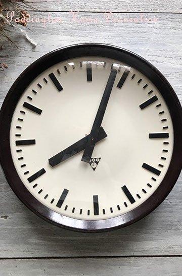 パラゴトロン社製ベイクライト壁掛け時計 R75222