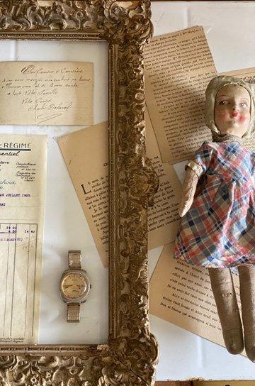 ブザンソン製腕時計,腕時計,アンティーク時計,スチール製,オブジェクト,アンティーク家具,通販 2
