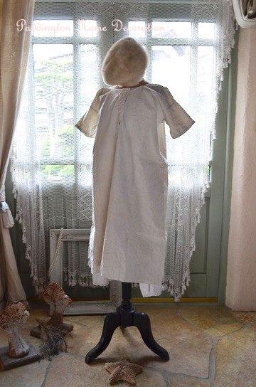 フレンチリネンワンピースドレス K81065d