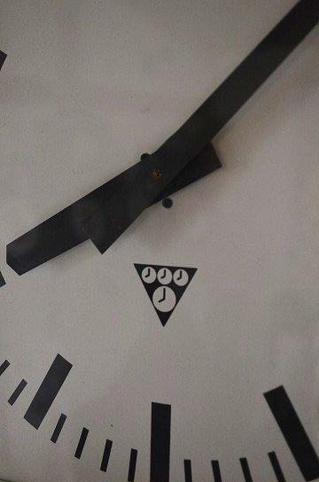 パラゴトロンクロック,パラゴトロン時計,オリジナル針,Pragotron,アンティーク時計,スチール角型,学校の古時計,壁掛け時計,アンティーク家具,通販3