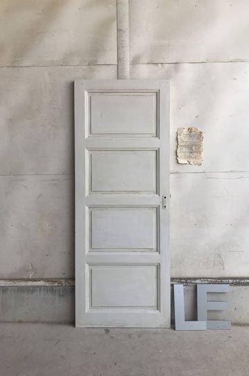 フレンチアンティークパネルドア D72118e