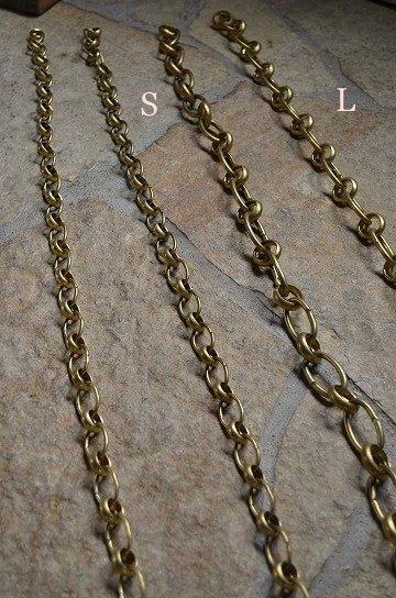 アンティークの真鍮製チェーンL,アンティークチェーン,照明用チェーン,アンティーク鎖,真鍮製鎖,照明パーツ,アンティーク家具,通販,販売8