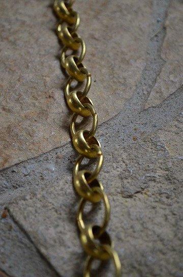 アンティークの真鍮製チェーン,アンティークチェーン,照明用チェーン,アンティーク鎖,真鍮製鎖,照明パーツ,アンティーク家具,通販,販売4
