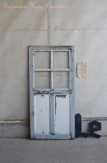 格子ガラスパネルドア D87056b