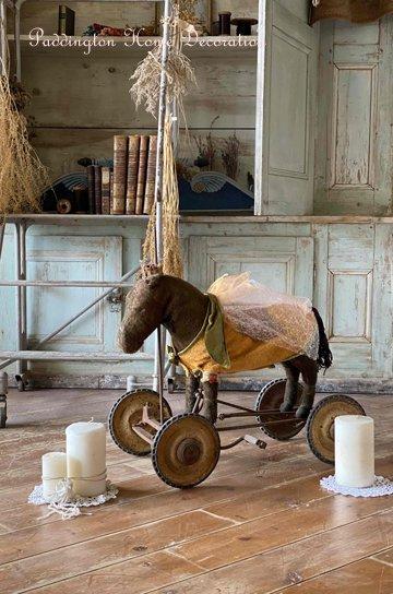フレンチアンティーク木馬 R87043