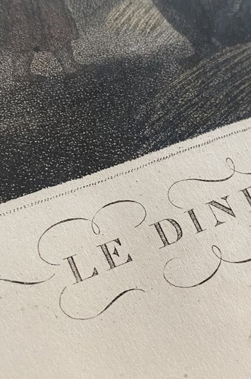 フレンチアンティークフレーム,Le diner des moissonneurs,刈り入れ人達の夕食,アンティークレース,アンティーク額縁,フレンチアンティーク,通販,販売4
