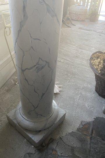 アンティークコラム柱,フレンチアンティーク,アンティークオブジェ,古代ギリシャ,イオニア式支柱,アンティーク柱,室内柱,通販,販売8