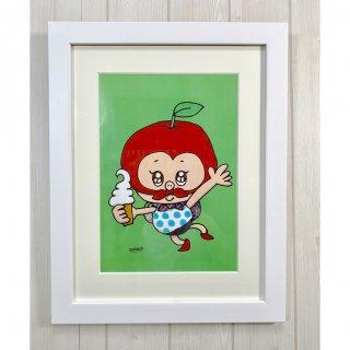 【絵】りんごドロボー