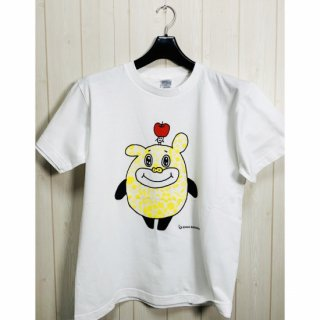 <img class='new_mark_img1' src='//img.shop-pro.jp/img/new/icons41.gif' style='border:none;display:inline;margin:0px;padding:0px;width:auto;' />【Tシャツ】ぶすりんご