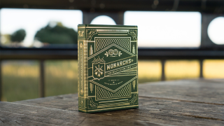 Monarch Playing Cards by Theory 11【Green】