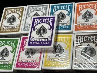 Bicycle カラフル 8カラーset