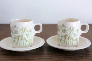 HONSEA (ホーンジー)コーヒーカップ&ソーサーペアセット