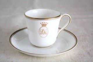 SAVOY HOTEL(サヴォイホテル)デザイン  ROYAL DOULTON(ロイヤルドルトン)製 ヴィンテージカップ&ソーサー