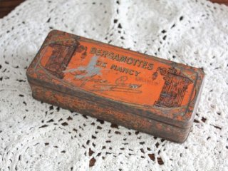 BERGAMOTTRES DE NANCY ヴィンテージティン缶