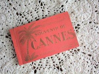 SOUVENIR DE CANNE  アンティークポストカード20枚綴り