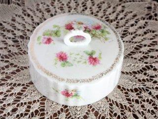 野花のかわいいヴィンテージケーキドーム