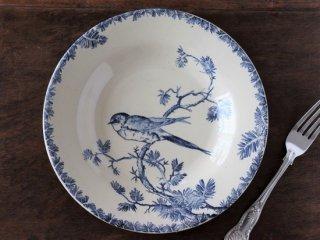GIEN 小鳥の絵柄 アンティークプレート