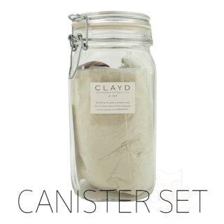 クレイド入浴剤-キャニスターセット(1kg×1袋 専用ボトル)
