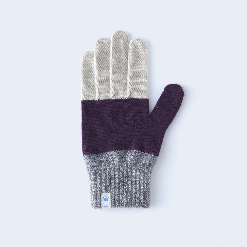 three tones WOMEN purple