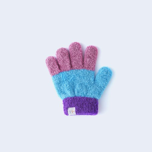 sanshoku KIDS light blue & purple