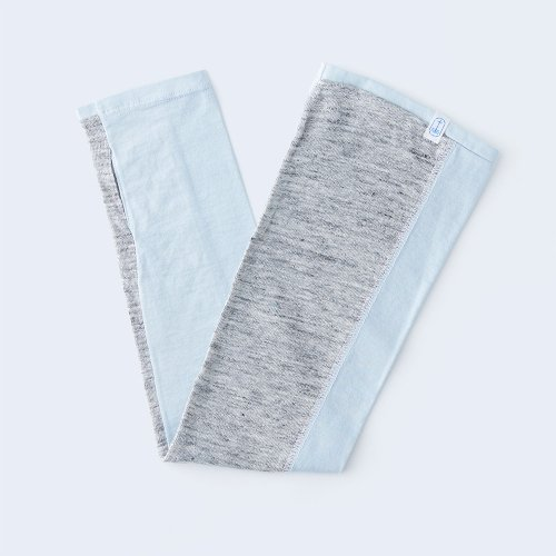 sunny cloth basic light blue & gray