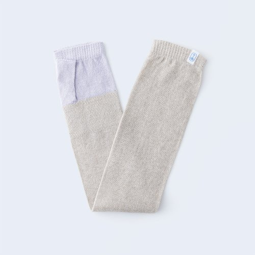sunny knit lilac & beige