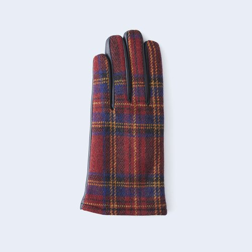 tartan check WOMEN red