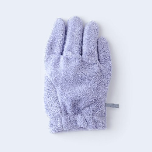 hair drying glove RIGHT lavender