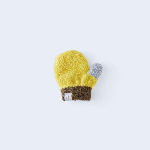 sanshoku miton KIDS yellow & brown